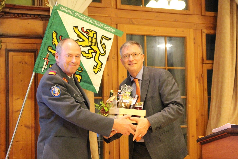 GV der kantonalen Offiziersgesellschaft Thurgau 2016
